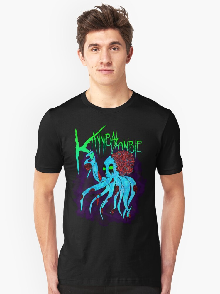 """Kannibal Zombie"" Zokto Shirt by KortniKannibal"