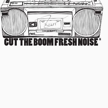 Cut The Boom Fresh Noise by robroyneat