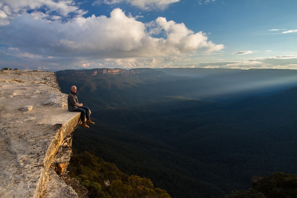 Flat Rock, Wentworth Falls NSW by Peta Jade