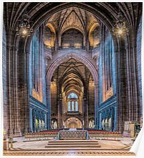A British Cathedral Poster