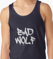 Bad Wolf #1 - White Tank Top