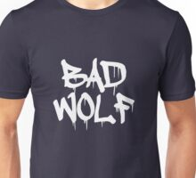 Bad Wolf #1 - White Unisex T-Shirt