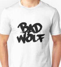 Bad Wolf #2 - Black Unisex T-Shirt