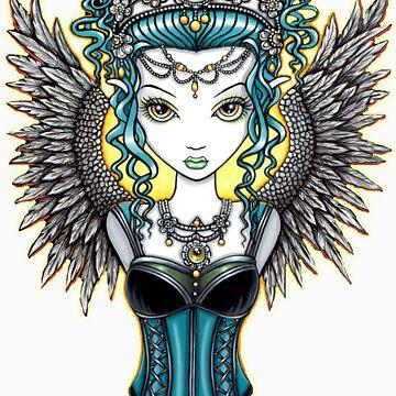 Alaura Guardian Angel by MykaJFairies