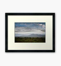 Southwest Weather Framed Print