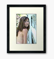 Neighbor Girl 6 Framed Print