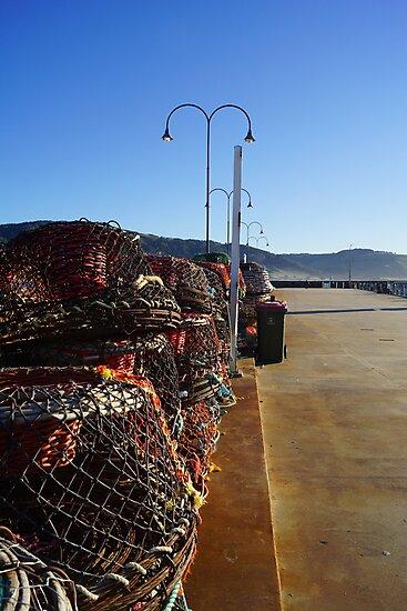 Apollo Bay Pier 2 by Lauren Eagle