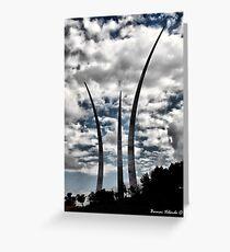 Air Force Memorial Greeting Card