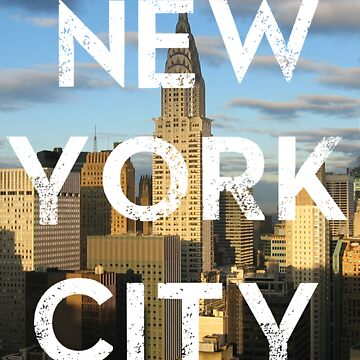 New York City - Text Overlay by Sthomas88