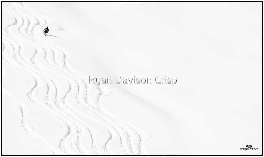 Fresh Tracks at Crescent Spur by Ryan Davison Crisp
