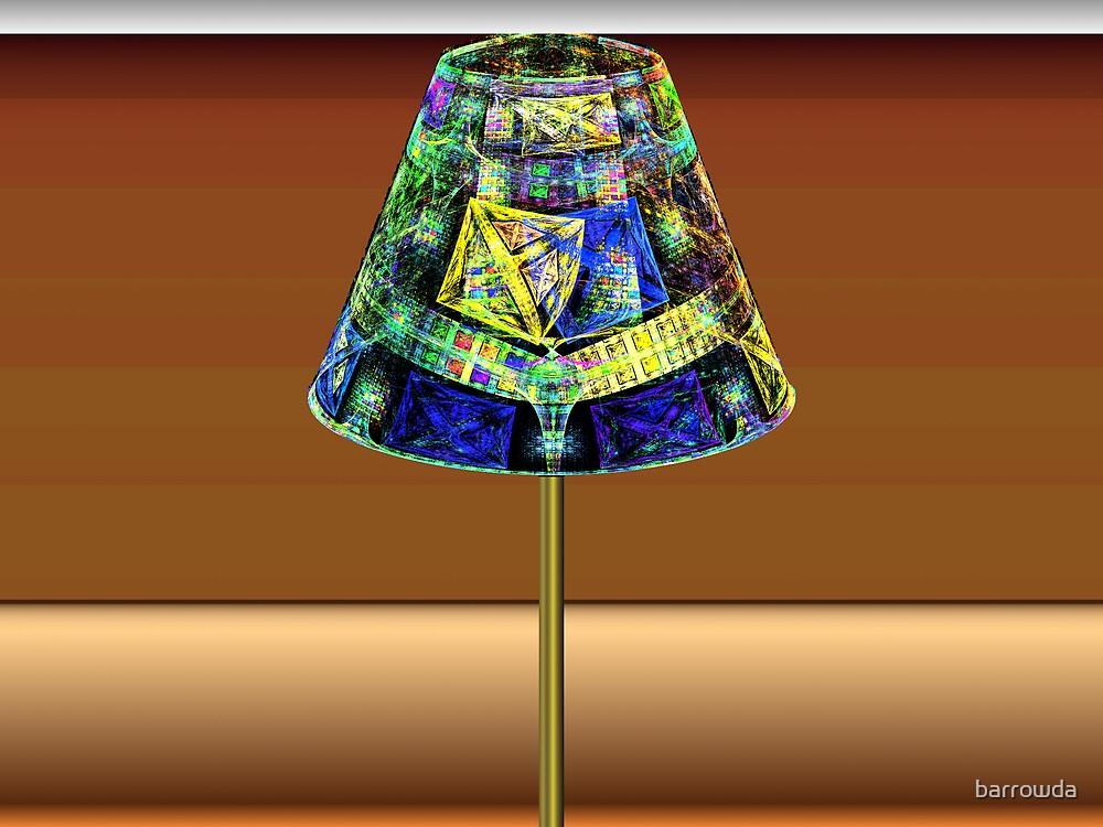 Tut63#3:  Pole Lamp  (G1375) by barrowda