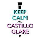 Keep Calm and Castillo Stare (Miami Vice) by olmosperfect