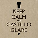 Keep Calm and Castillo Stare (Wet Sand) by olmosperfect