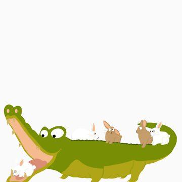 Crocodile by NathalieBruyer