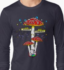Haight Ashbury - Psychedelic Mushroom Long Sleeve T-Shirt