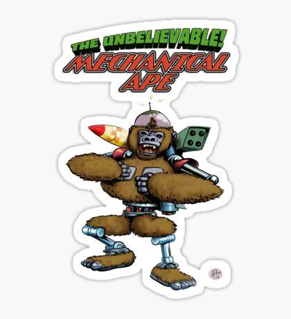 Mechanical Ape Sticker