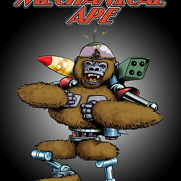 Mechanical Ape by pulpfaction