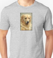 Sweet Golden Retriever Dog Unisex T-Shirt