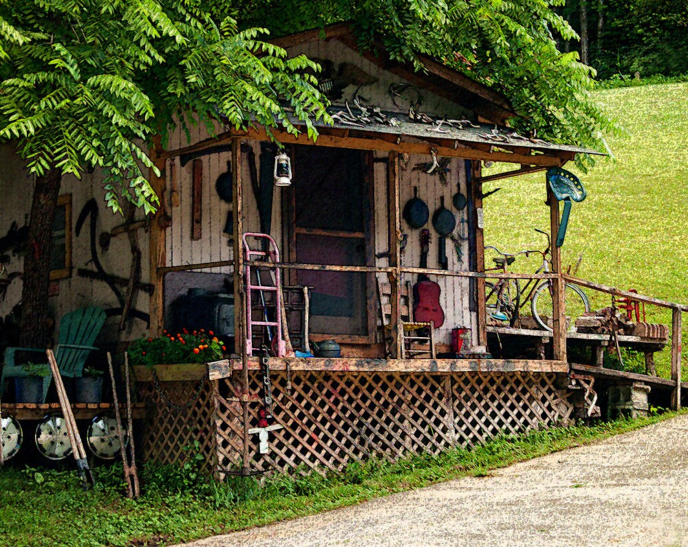 Blue Ridge Mountain Home by Stephen Upton, Sarasota, Fl