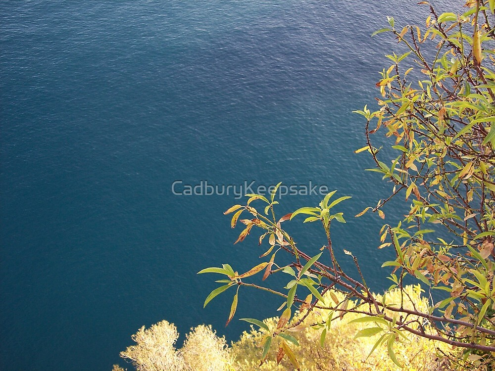 The Sea in the French Riviera by CadburyKeepsake