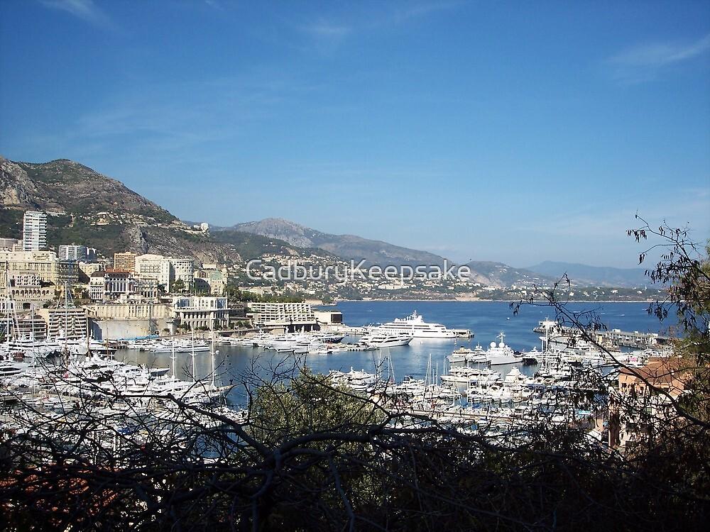 Monaco's Sea by CadburyKeepsake