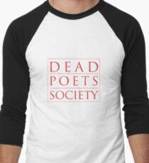 Dead Poets Society - Logo Men's Baseball ¾ T-Shirt