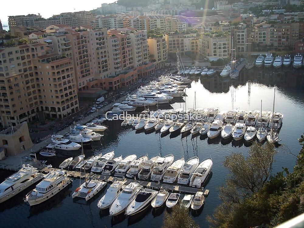 Boats of Monaco by CadburyKeepsake
