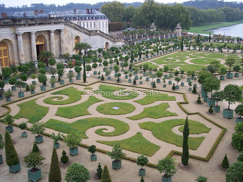 Gardens at the Palace of Versailles by CadburyKeepsake