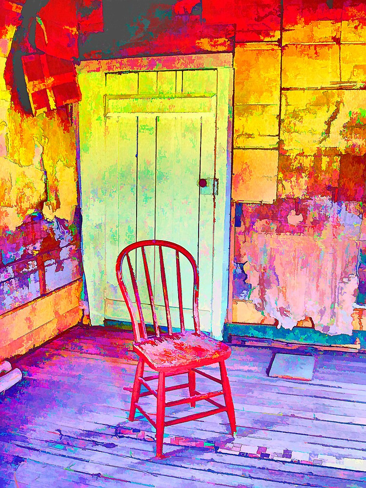 The Red Chair by Coralea Breezley