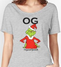 OG Original Grinch  Women's Relaxed Fit T-Shirt