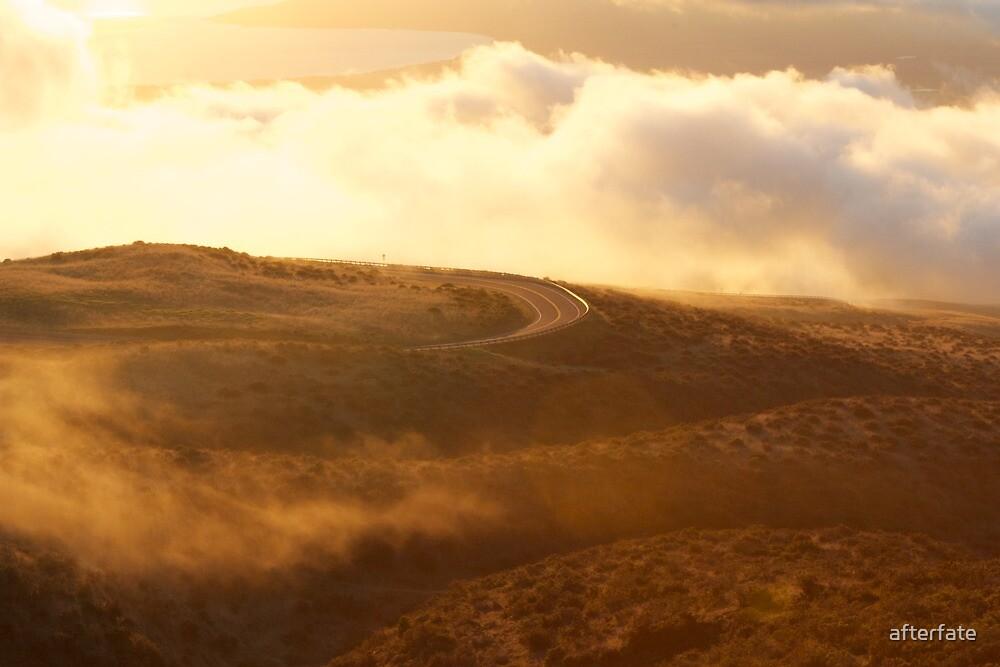Winding Roads of Haleakalā by Chris Sauerwald