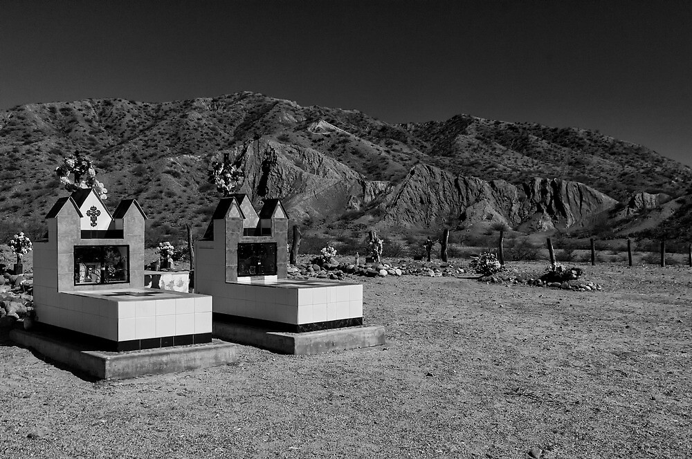 Mountain Cemetery - in monochrome by photograham