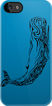 Quot Tribal Whale Quot Stickers By Hmx23 Redbubble