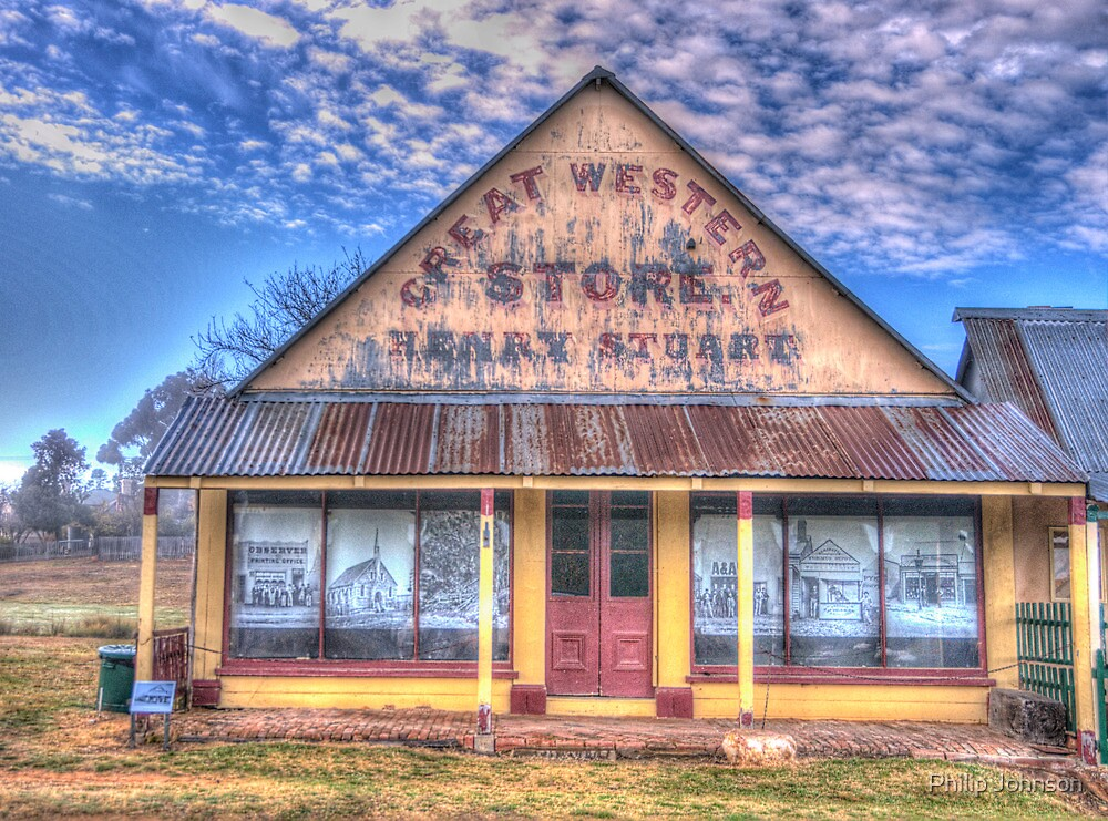 The Great Western Store - Hill End - The HDR Experience by Philip Johnson