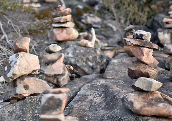 Stacked Rocks by VictoriaSM