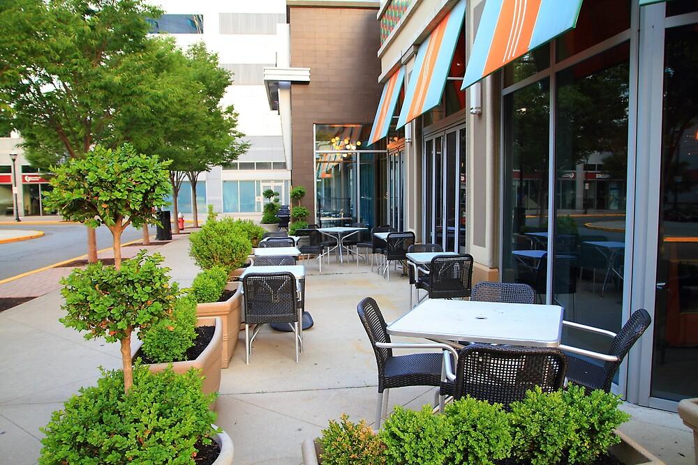 Outdoor cafe by pmarella