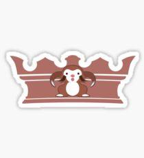 Sloth Prince Sticker