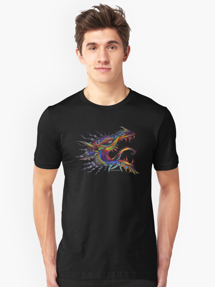 Dragon of Rainbows Unisex T-Shirt Front