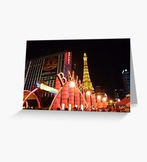 Ballys Las Vegas Greeting Card