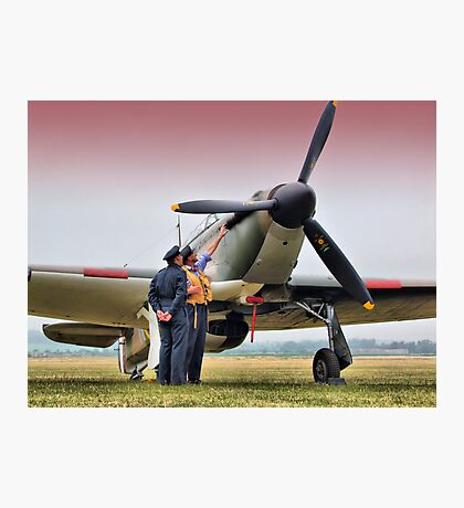 Hurricane - Duxford Flying Legends 2013 Photographic Print