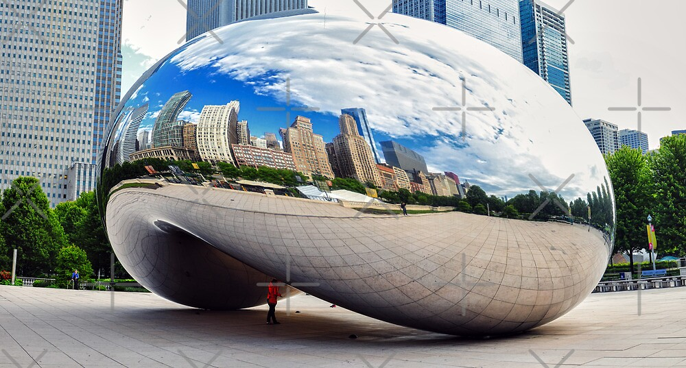 The Chicago Bean by zouhair lhaloui