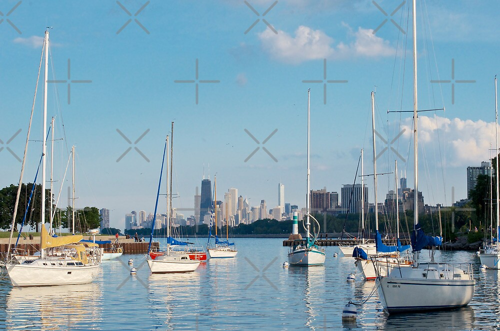 Montrose Harbor by zouhair lhaloui
