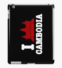 I Angkor (Love) Cambodia iPad Case/Skin