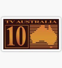 10 TV Australia Sticker
