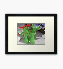 'I'm a very rare breed, don't you know ' Framed Print