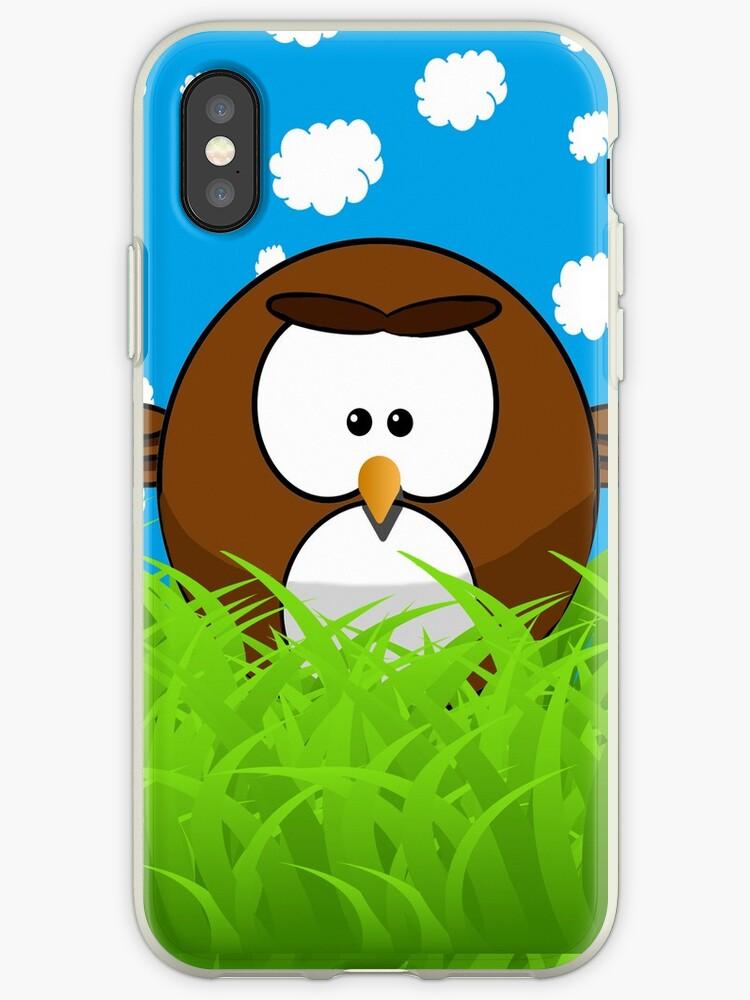 Cute cartoon bird by PotatoerDude