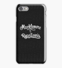 Macklemore & Ryan Lewis Case iPhone Case/Skin