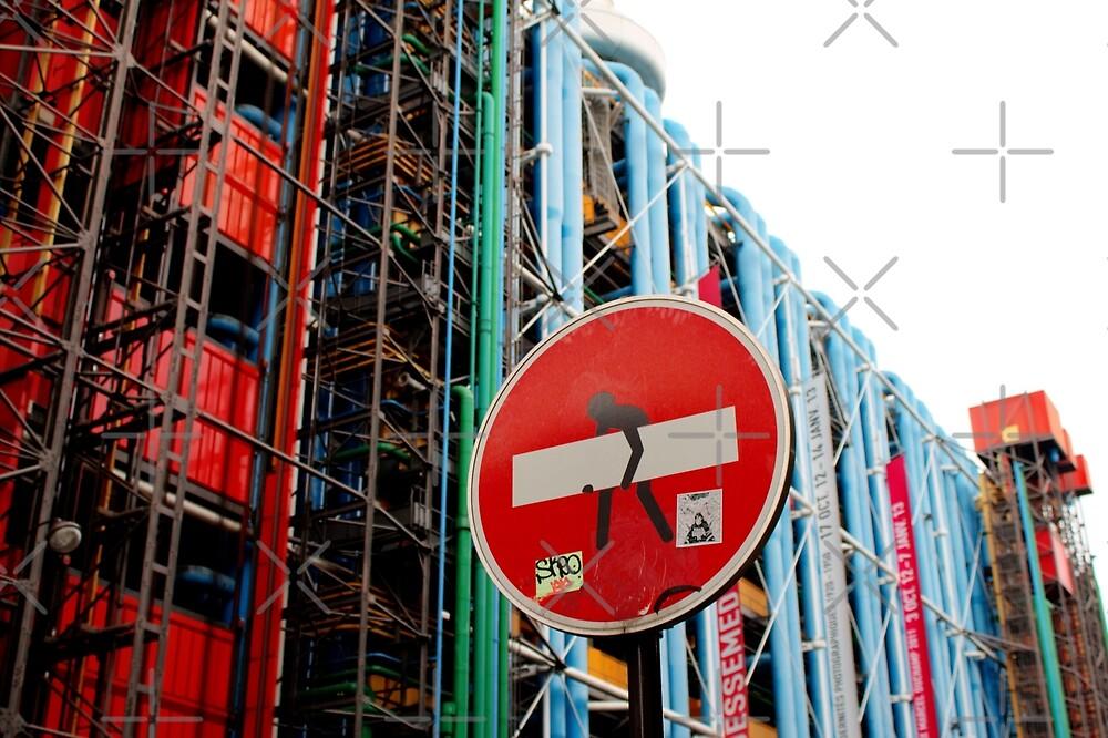 Paris Centre Pompidou by Grimm Land