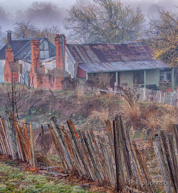 Old Reliable  #2 - Hill End NSW - The HDR Experience by Philip Johnson