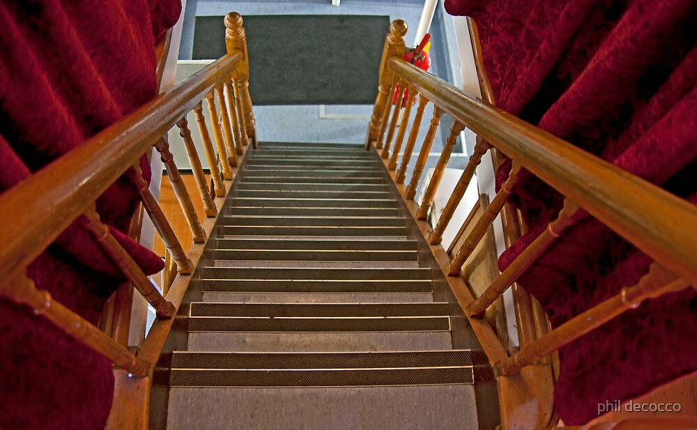 Downstairs by phil decocco
